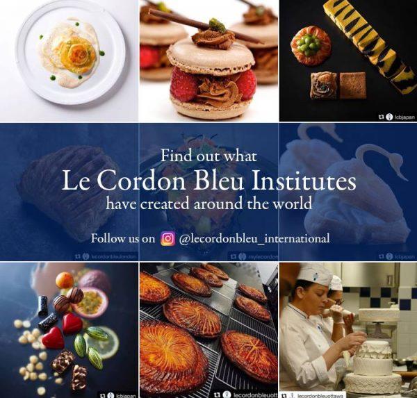 Le Cordon Bleu เลอกอร์ดองเบลอ เรียนทำอาหาร เชฟ ออสเตรเลีย อเมริกา แคนาดา อังกฤษ เรียนทำขนม Michelin Master Chef แนะแนวเรียนต่อต่างประเทศ เดอะเบสท์