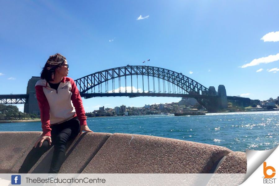 น้องกิ๊บ-เรียนต่อออสเตรเลีย