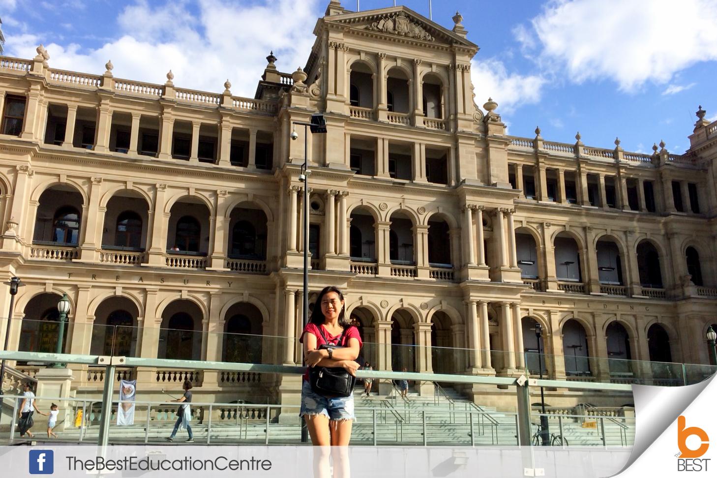 น้องแพน เรียนต่อออสเตรเลีย ท่องเที่ยว เดอะเบสท์  Australia Brisbane Gold Coast โกลด์โคสต์ บริสเบน วีซ่าออสเตรเลีย ชีวิตเด็กนอก เรียนต่อต่างประเทศ