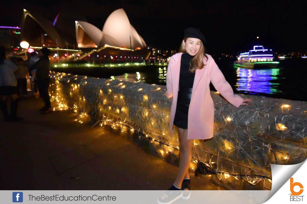 คุณมิ้น เรียนต่อออสเตรเตรเลีย ท่องเที่ยว เดอะเบสท์ Australia Sydney ซิดนีย์ วีซ่าออสเตเรลีย ชีวิตเด็กนอก เที่ยวออสเตรเลีย เรียนต่อต่างประเทศ