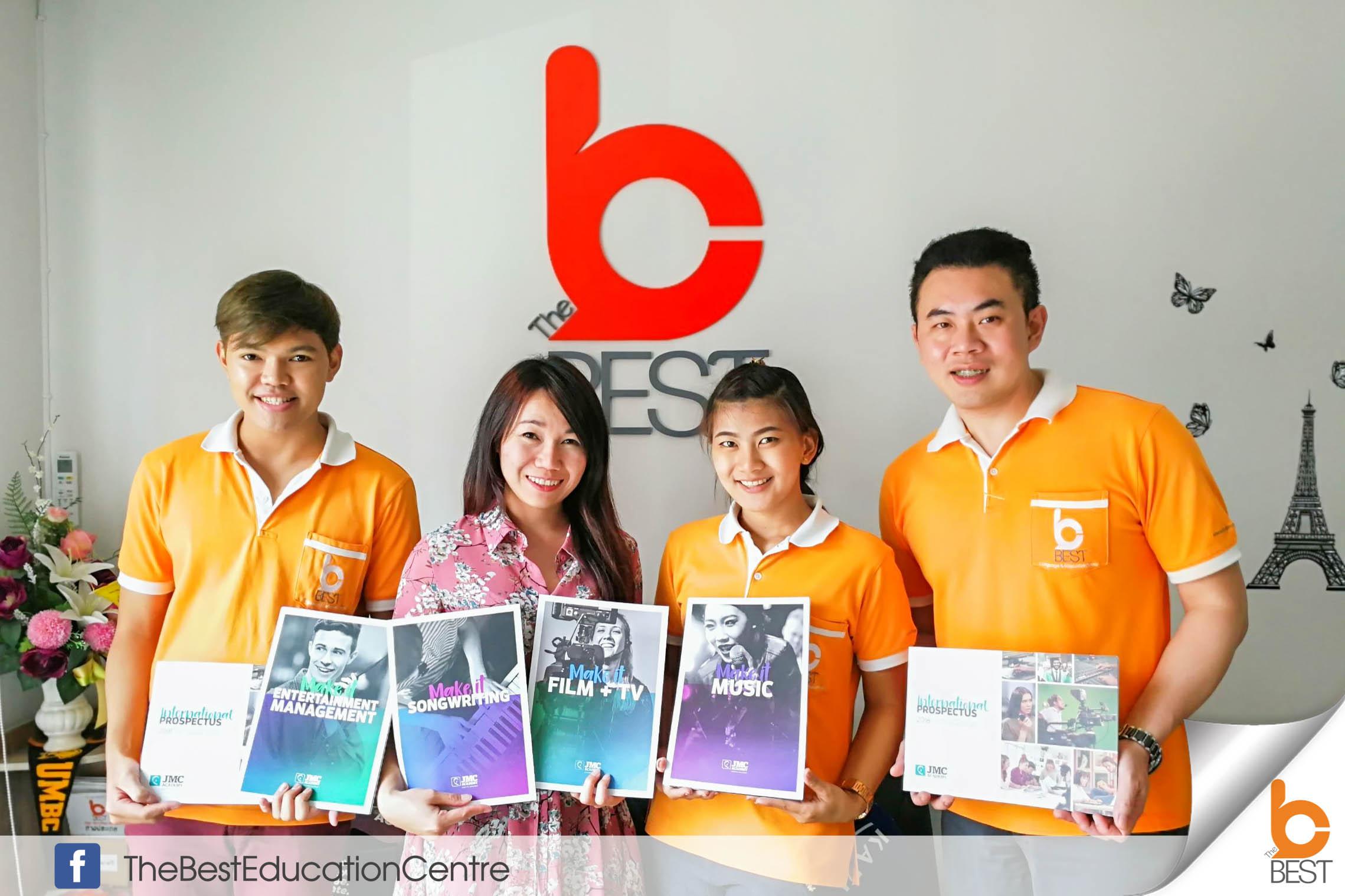 ต้อนรับเจ้าหน้าที่ JMC Academy แนะแนวเรียนต่อต่างประเทศ เรียนต่อออสเตรเลีย เรียนดนตรีต่างประเทศ ภาพยนตร์ เพลง เดอะเบสท์ วีซ่านักเรียน วีซ่าท่องเที่ยว