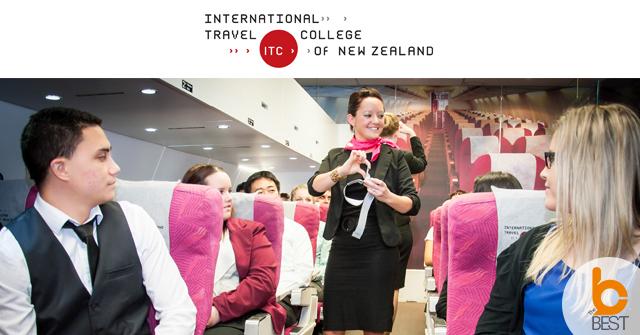 The International Travel College เรียนต่อต่างประเทศ เรียนต่อนิวซีแลนด์ เรียนเป็นแอร์โฮสเตท Cabin Crew อยากเป็นแอร์ เดอะเบสท์ ทำงานบทเครื่องบิน