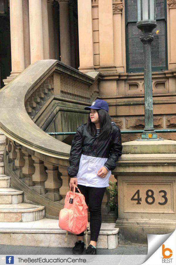 แฮมมี่ เรียนต่อออสเตรเลีย