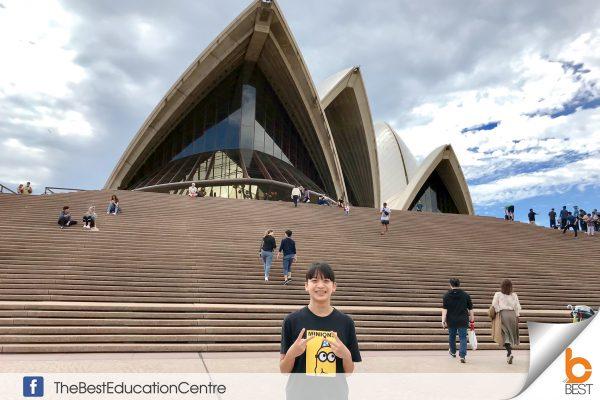 น้องมิลค์ เรียนต่อออสเตรเลีย
